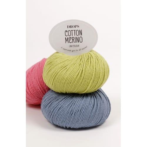 Drops Cotton merino uni color