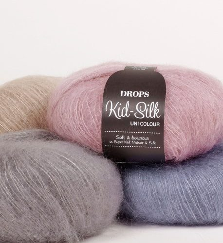 Drops Kid silk uni color