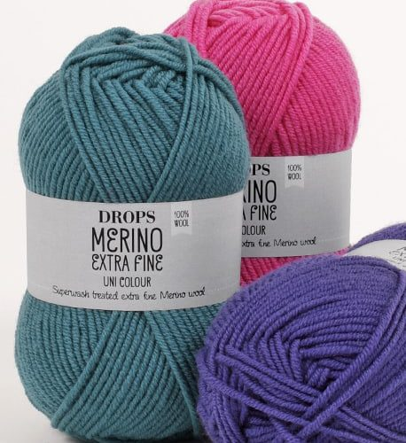 Drops Merino extra fine uni color