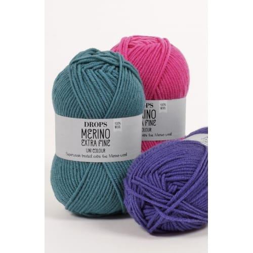 Drops Merino extra fine uni color