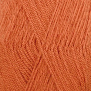 Drops Alpaca uni color 1042915 Orange