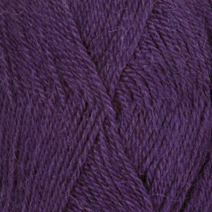 Drops Alpaca uni color 1044400 Dark Purple