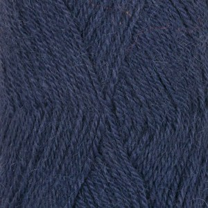 Drops Alpaca uni color 10464305 Dark Indigo