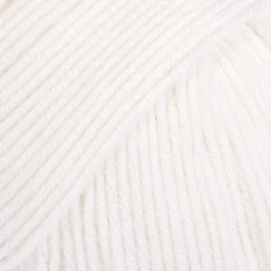 Drops Baby alpaca silk 10948101 White