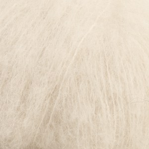 Drops Brushed alpaca silk 109801 Off White