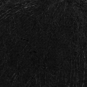 Drops Brushed alpaca silk 109816 Black