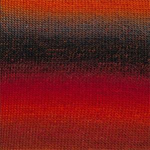 Drops Delight 109213 Red/Orange/Grey
