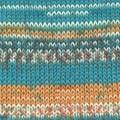 Drops Fabel print 1070162 Bleu Sea