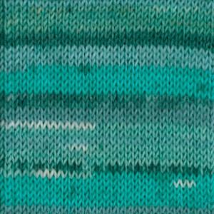 Drops Fabel print 1070340 Blue Lagoon