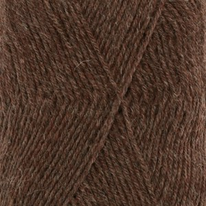 Drops Fabel uni color 1070300 Brown