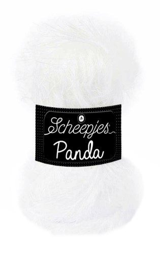 Scheepjeswol Panda 580 wit arts fox